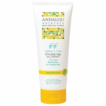Andalou Naturals Healthy Shine Styling Gel
