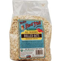 Bob's Red Mill Organic Oats Rolled Regular, 32-Ounce (Pack of 4)