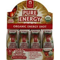 Genesis Today Pure Energy Organic Energy Shot Goji Berry -- 2 fl oz Each / Pack of 12