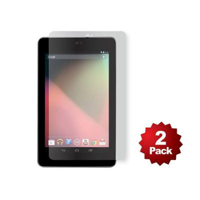 Monoprice Screen Protector (2-Pack) w/ Cleaning Cloth for Nexus 7 - Transparent Finish