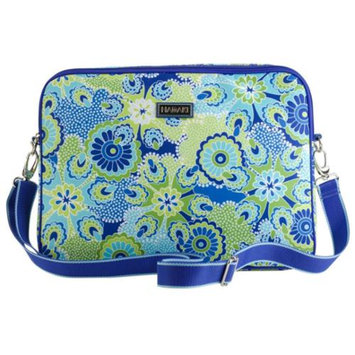 Hadaki Nylon 15.4 in. Laptop Sleeve Jazz Cobalt