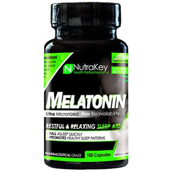 Nutrakey Melatonin - 100 Capsules