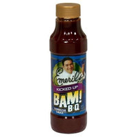 Emeril's Bam! B-Q Sauce Kicked Up, 18-Ounce (Pack of 6)