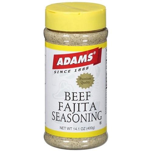 Adams Beef Fajita Seasoning, 400g