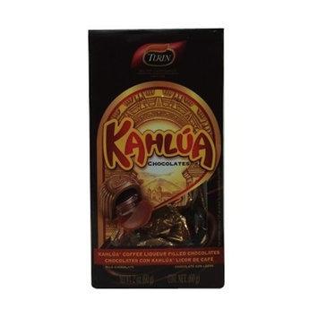 Turin Master Chocolatier Turin's Kahlua Coffee Liquor Flavored-filled Chocolates 2oz Stand-up Bag