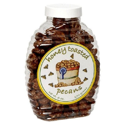 Sunflower Food and Spice Co, Honey Toasted Pecans, 6-Ounce Jars (Pack of 3)