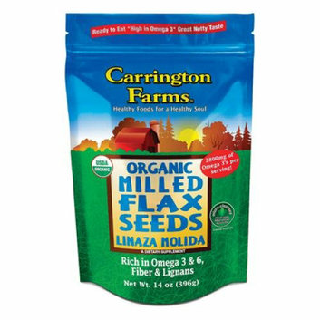 Carrington Farms Milled Flax Organic Linaza Case of 6 14 oz