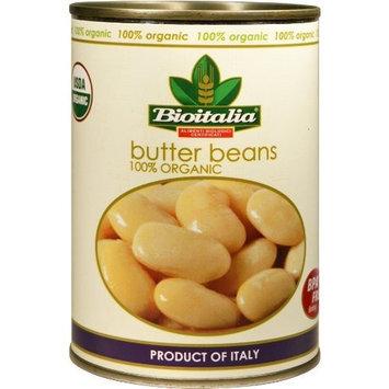 Bioitalia Butter Beans, 14-Ounce (Pack of 12)