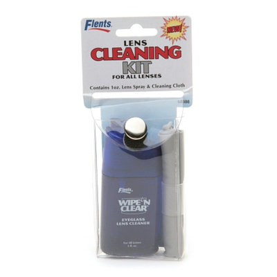 Flents Wipe 'N Clear Lens Cleaning Kit
