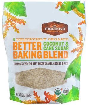 Madhava Better Baking Blend Coconut & Cane Sugar 16 oz
