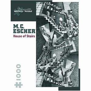 MC Escher House of Stairs Puzzle 1000 pcs  Ages 12 and up