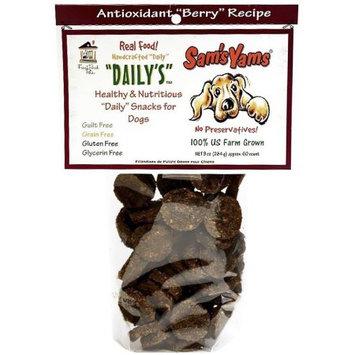 Sam's Yams Herbal Cookies Dog Berry Yammy 4.5 oz