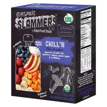 Baby Gourmet Foods Inc. Organic Slammers Superfood Snack Chill'N Fruit & Yogurt Filled