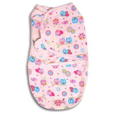 Summer Infant SwaddleMe Hearts & Hoots - Small