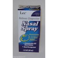 Lee Nasal Spray Moisturizing 12 Hours Relief - Decongestant