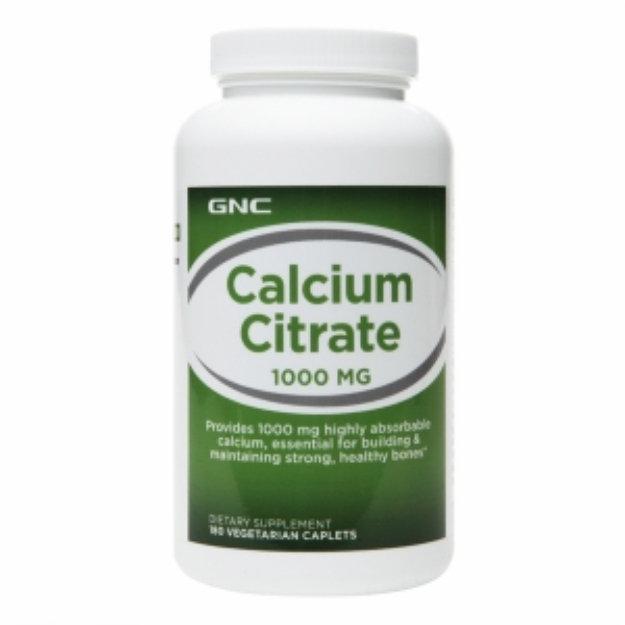 GNC Calcium Citrate 1000mg, Tablets, 180 ea