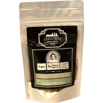 Louisville Vegan Jerky - Sriracha Maple, 2.5 oz. Bag []