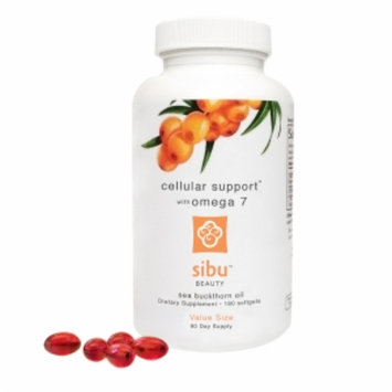 Sibu Beauty Cellular Support with Omega 7 Sea Buckthorn Oil, 180 softgels