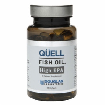 Douglas Laboratories Quell Fish Oil High EPA Capsules, 60 ea