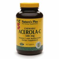 Nature's Plus Acerola-C 500mg Vitamin C