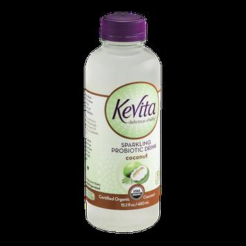 KeVita Delicious Vitality Sparkling Probiotic Drink Coconut