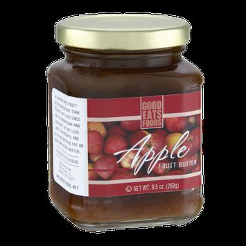 Good Eats Foods Apple Fruit Butter