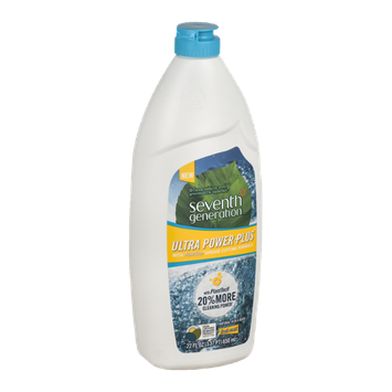Seventh Generation Natural Dish Liquid Ultra Power Plus Fresh Scent
