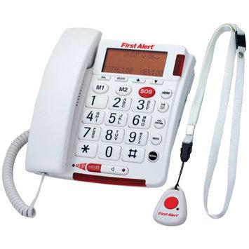 Spectra Merchandising International, Inc First Alert Emergency Speaker Phone Telephone w/ Wearable Remote Pendant