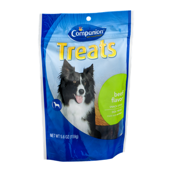 Companion Snack Stick Dog Treats Beef Flavor