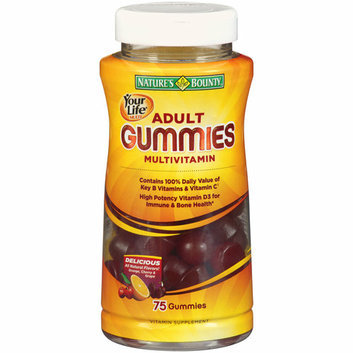 Nature's Bounty Your Life Multi Adult Gummies Multivitamin Specialty Formula with Fiber