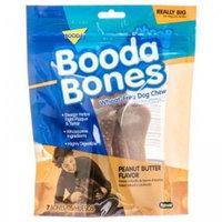 Bigger Booda Bone, Peanut Butter, 9PK