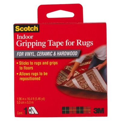 3M Scotch Indoor Gripping Tape for Rugs 1.96