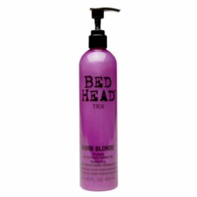 TIGI Bed Head Dumb Blonde Shampoo for Chemically Treated Hair, 13.5 fl oz