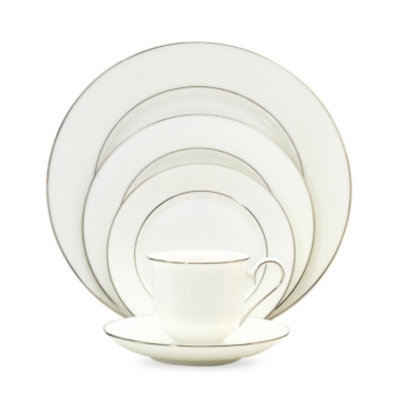 Lenox Hannah Platinum 5-Piece Place Setting