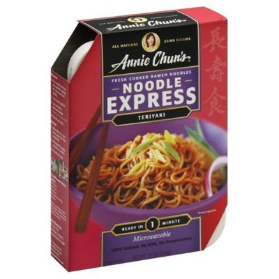Annie Chun's Teriyaki Noodle Express, 7.4-Ounce Bowls (Pack of 6)