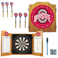 Trademark Global Ohio State University Dart Cabinet