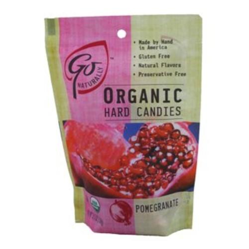GoNaturally ORGANIC HARD CANDIES (Pomegranate) (1 x 3.5 OZ)