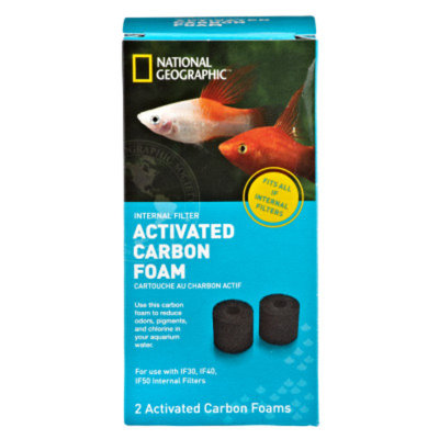 National GeographicTM Activated Filter Carbon Foam