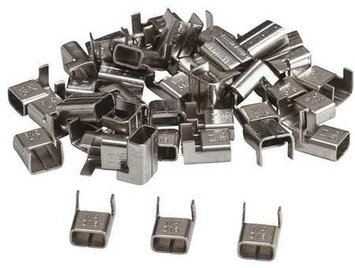 BRADY 90910 Banding Heads,316 SS,3/4in, PK100