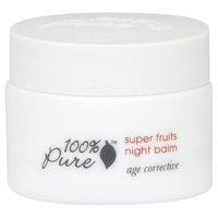 100% Pure Night Balm, Super Fruits - 1.2 oz