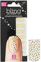 Il Bliss Bling Nails Gold Bubbles