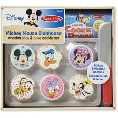 Melissa & Doug Mickey Mouse Clubhouse Wooden Slice and Bake Cookie Set