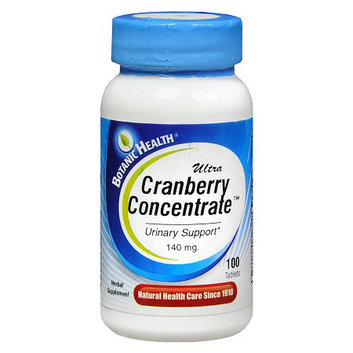Botanic Health Ultra Cranberry Concentrate 140 mg Herbal Supplement Tablets