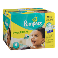 Pampers Swaddlers Sesame Street Diapers Size 4 - 70 CT