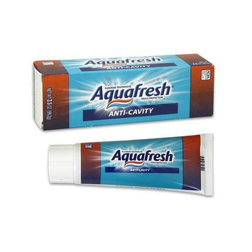 Aquafresh anti cavity toothpaste