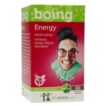 BioTerra Herbs Energy, Veggie Capsules