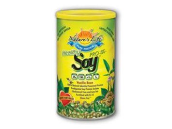 Nature's Life Soy Protein Pro-95 & Pro Life Soy Replacement Vanilla Bean Powder
