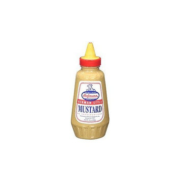 Hofmann German Style Mustard - 12 oz Squeeze Bottle