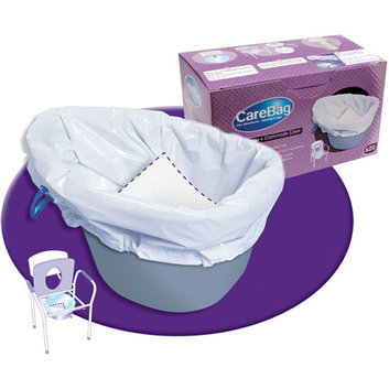 CareBag Commode Liner Absorbent Bags