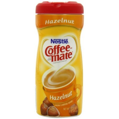 Coffee-Mate Hazelnut Powdered Coffee Creamer, 15-Ounce Packages (Pack of 6)